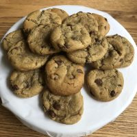 The best gluten-free gooey chocolate chip cookies ever! (dairy-free options)