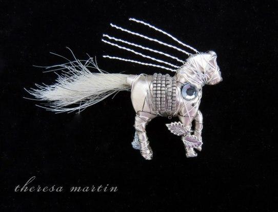 Pewter - Horse Pin