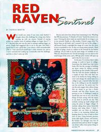 Somerset Red Raven