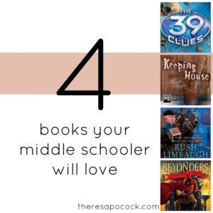 4booksyourmiddleschooler