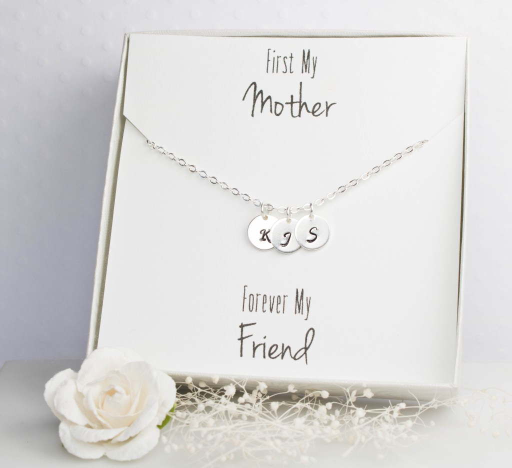 Personalized Initial Silver Necklace