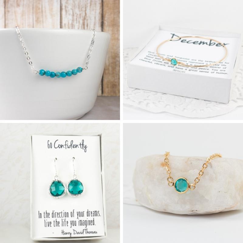 Theresa Rose Designs December Birthstone Jewelry