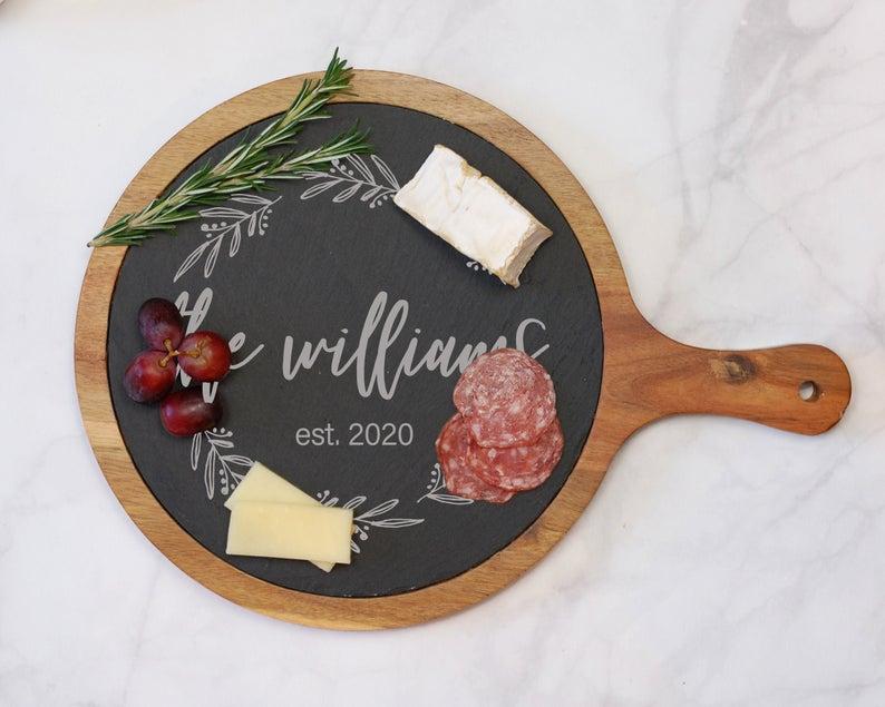 Flower Town Weddings Cheese Board