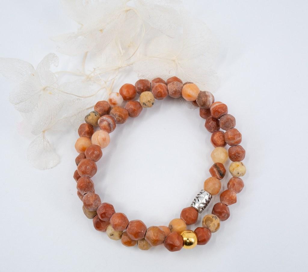 theresa-rose-designs-fall-fashion-color-red-italian-onyx-beaded-bracelet