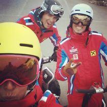 Skilehrer auf Segways... #rettesichwerkann