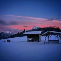 Winterwanderung in Flachau. Was für eine Stimmung