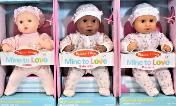 Melissa & Doug Mine to Love Baby Dolls