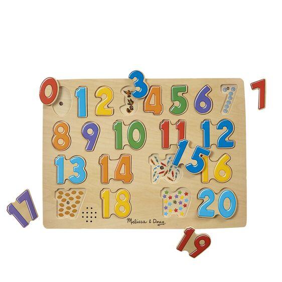 Melissa & Doug Number Puzzle