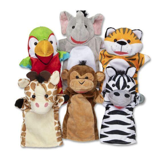 Melissa & Doug Safari Buddies Hand Puppets