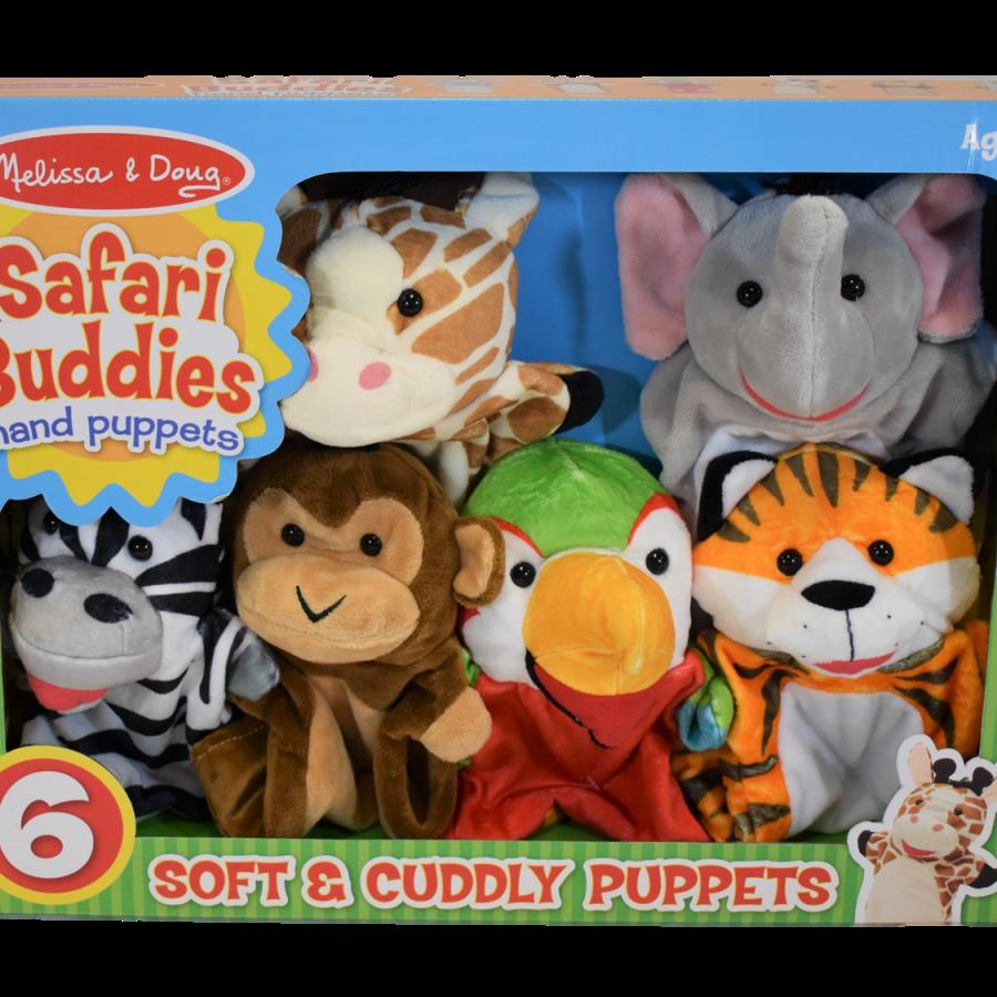 Melissa & Doug Safari Buddies Puppets