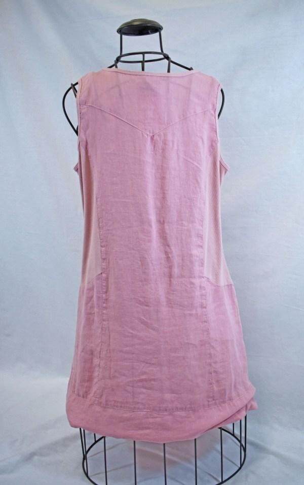 Color Me Cotton Click Apron Dress Back