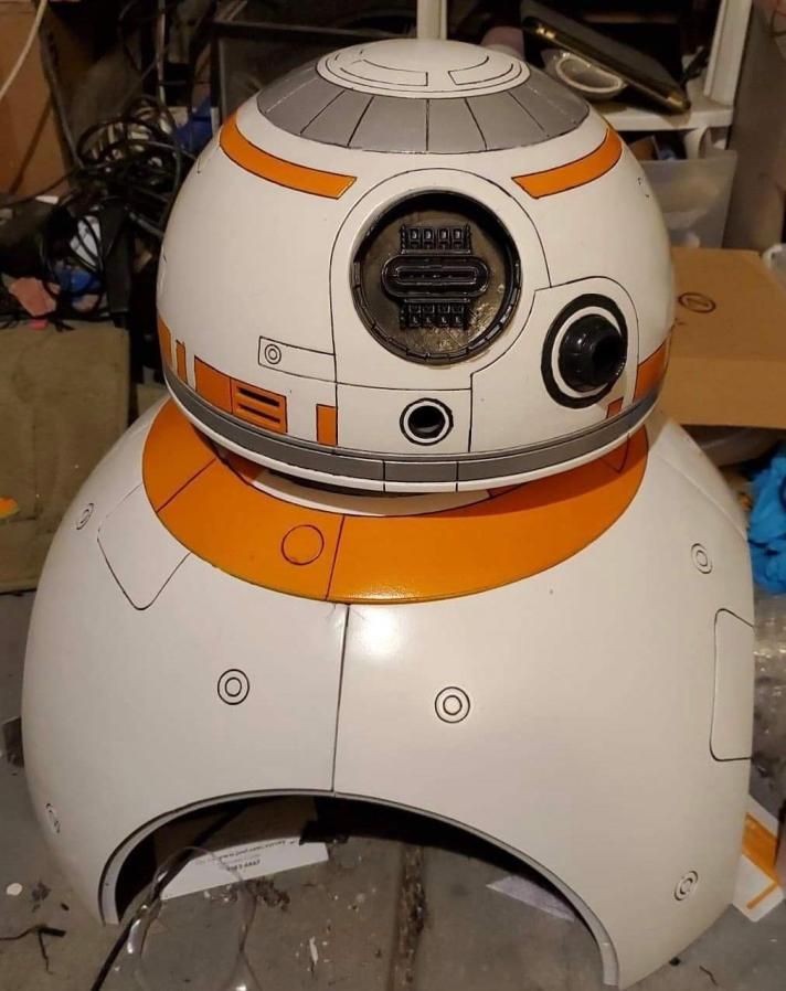 BB8 almost finished