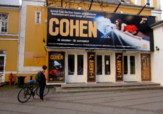 Teaterkoncert med sange af Leonard Cohen