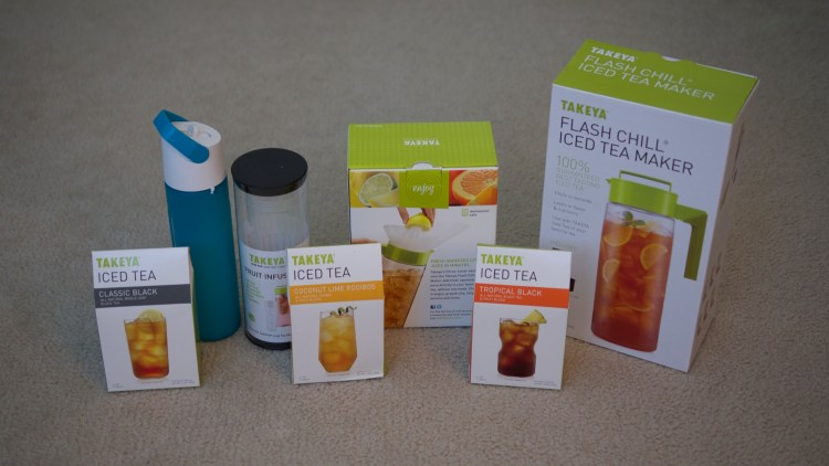 Summer Patio Essentials - Takeya Iced Tea Maker - by Theresa Pickett - www.theresasreviews.com