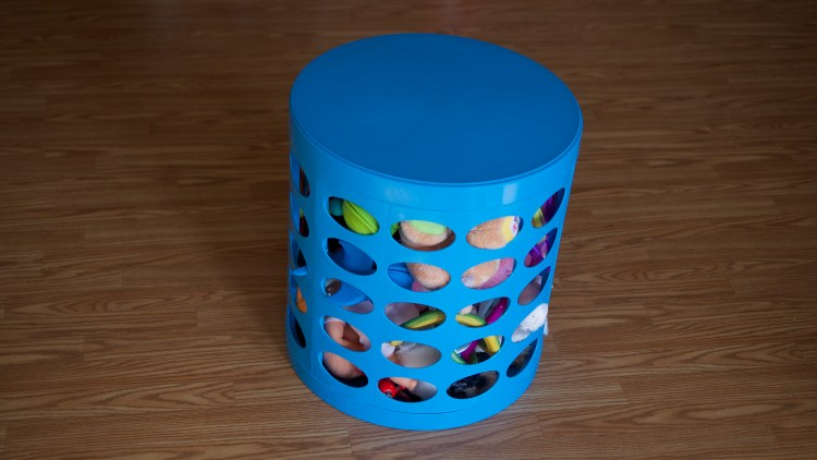 Summer Patio Essentials - OTTO Storage Stool - by Theresa Pickett - www.theresasreviews.com