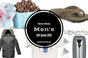 Men's Holiday Gift Guide 2015 - Theresa's Reviews - www.theresasreviews.com