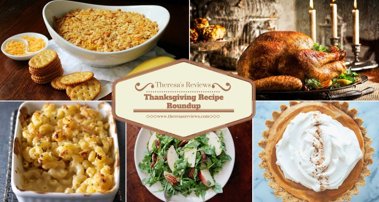 Thanksgiving Recipe Roundup - Theresa's Reviews - www.theresasreviews.com
