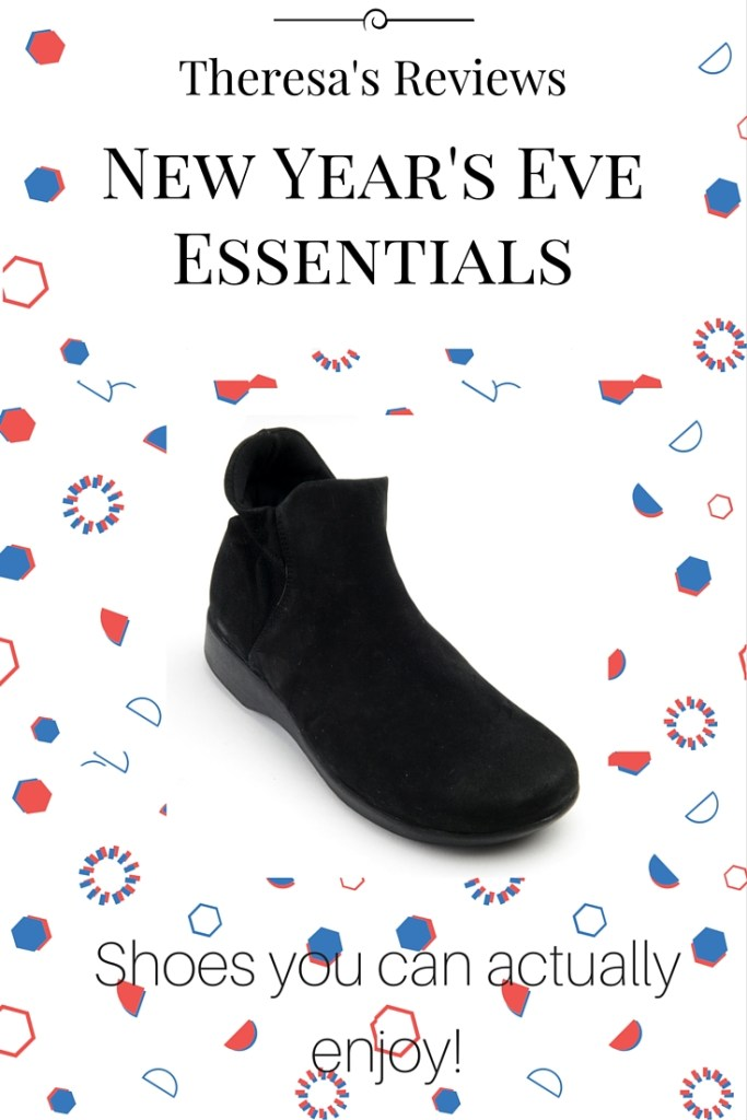 3 New Year's Eve Essentials - Arcopedico - Theresa's Reviews - www.theresasreviews.com
