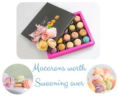 7 Ideas for Delicious Easter Treats - Featuring @lemacaronsaraso - Macarons Worth Swooning Over - on Theresa's Reviews www.theresasreviews.com