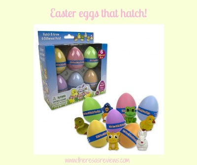 Easter eggs that hatch! Easter gift guide - gifts for the Easter basket - Featuring Hatch 'Ems - on Theresa's Reviews