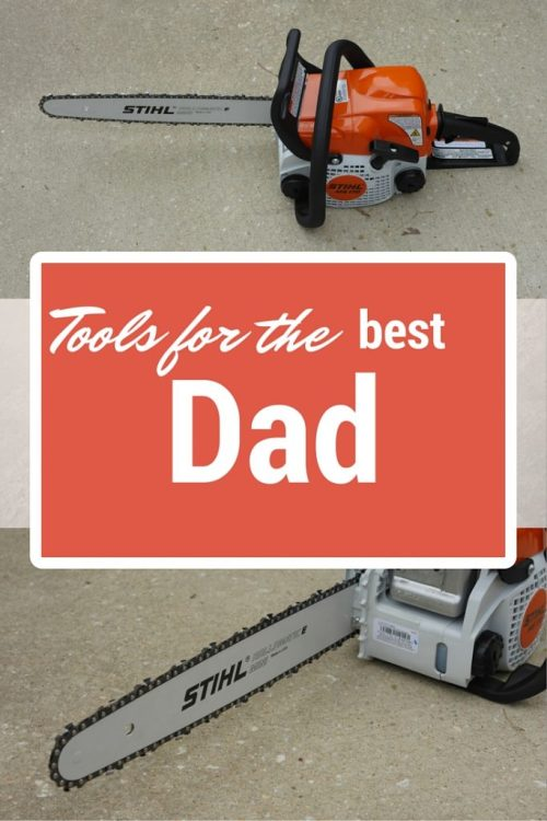 What to Buy Dad for Father's Day 2016 (& Giveaway) - @stihlusa @theresapickett1