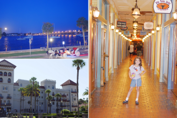 Top 10 Places You'd Love To Visit In St. Augustine, Part 1