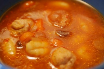 Turkey Meatball Vegetable Soup Recipe