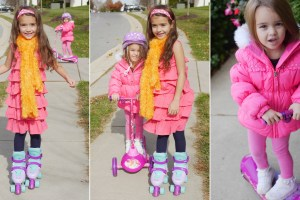 Theresa's Reviews - Disney Princess Scooter And Frozen Skates Perfect For First Timers