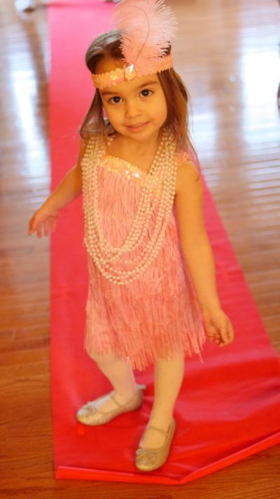 Theresa's Reviews - A festive outfit is perfect for a kid-friendly Oscar party! 5 Must Try Tips For The Ultimate Kid-Friendly Oscar Party - Movie Themed Party - Movie Party - Hollywood Party