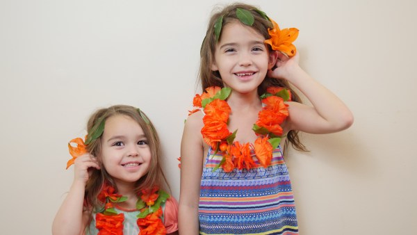Theresa's Reviews - Even if you don't own the Disney Moana costume, you can easily make an outfit for a Moana party. Create a leaf headband by sewing leaves together with needle and thread. Then, buy tropical flowers and a matching lei.