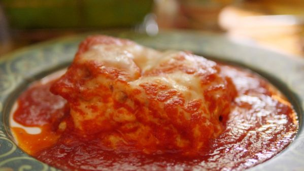 Homemade Meat Lasagna At Da Mimmo's Restaurant In Little Italy Baltimore - By Theresa's Reviews