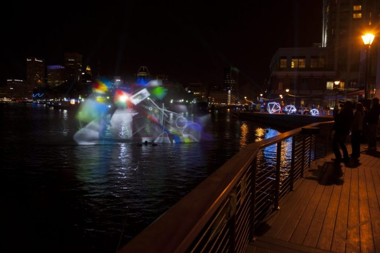 For Spring Break family fun, check out 2017 Light City. Photo credit Baltimore Office of Promotion and the Arts