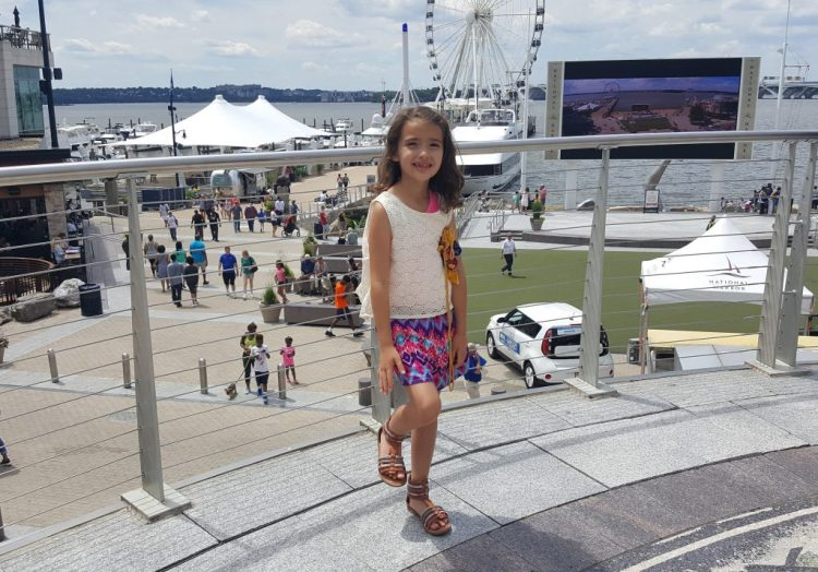 Ride the Capital Wheel at the National Harbor