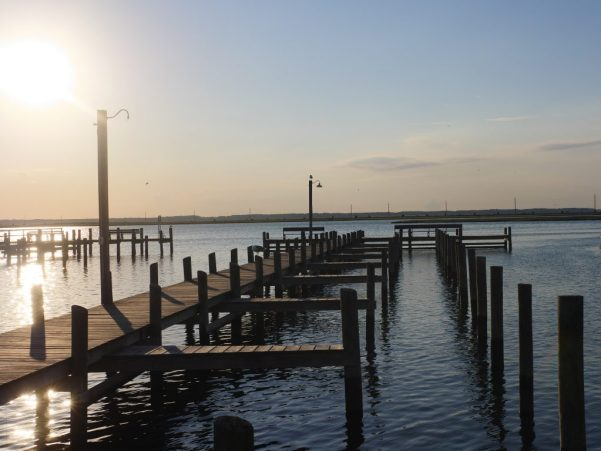 Ancor Inn Pier at Chincoteague Island