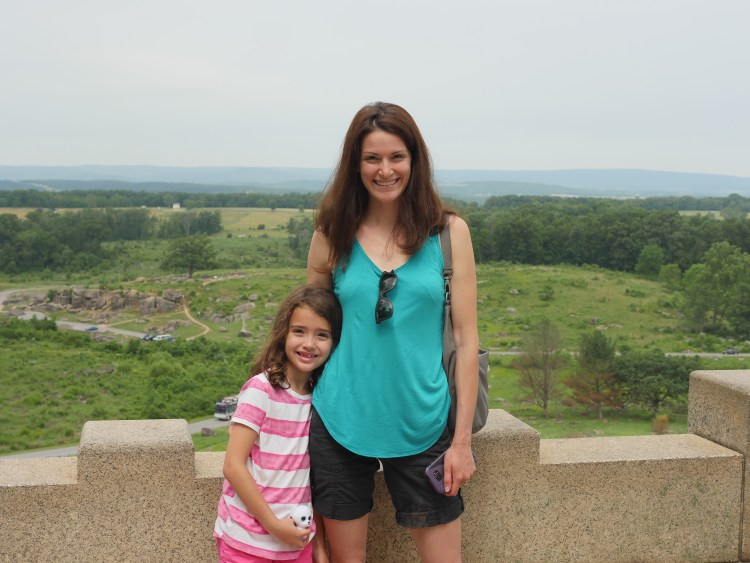The view from Little Round Top was one of the most beautiful landscapes I have seen since moving to the East Coast.