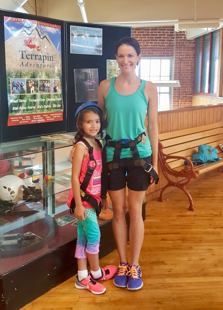 Mother and daughter experience at Terrapin Adventures