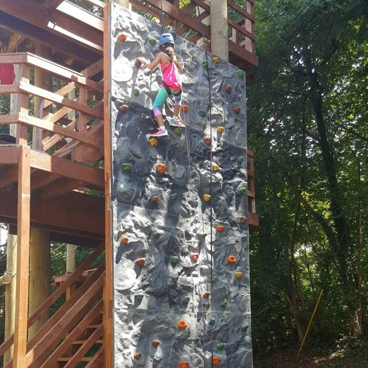 Rock Climbing at Terrapin Adventures