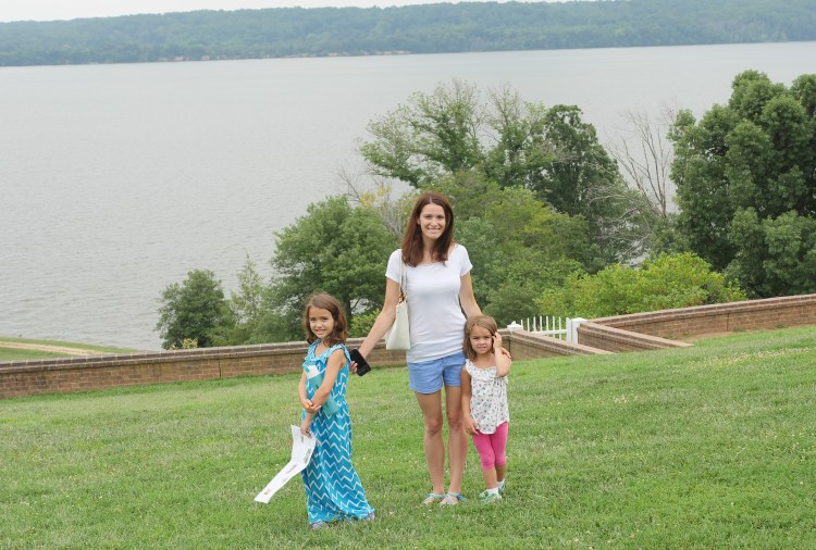 George Washington's water-front mansion is well worth touring.