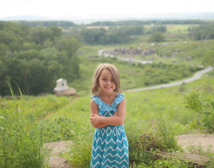 Seeing the battlefield at Little Round Top in Gettysburg - Theresa's Reviews