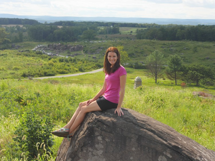 Blogger Theresa Pickett of Theresa's Reviews explores the Civil War battlefield in Gettysburg.