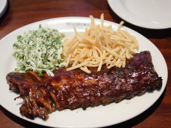 Danish Barbecue Pork Ribs at Stanford Grill in Columbia, Maryland - Theresa's Reviews