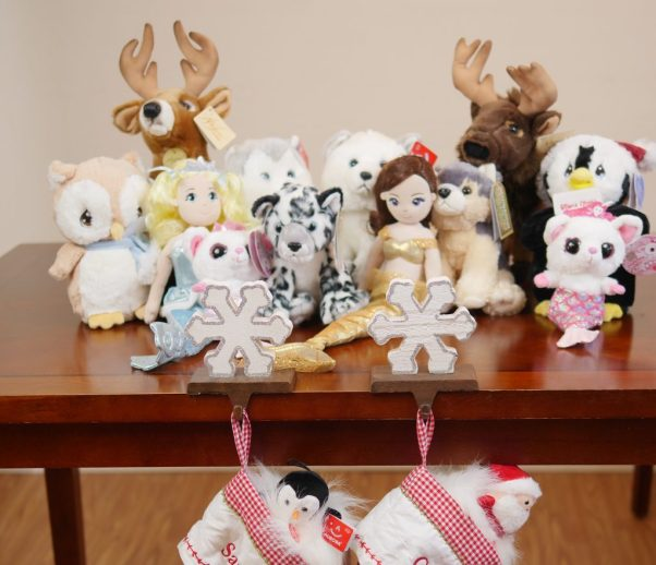 Aurora World has a wide variety of plush toys that are festive and cute. - Theresa's Reviews 2017 Christmas Gift Guide For Children