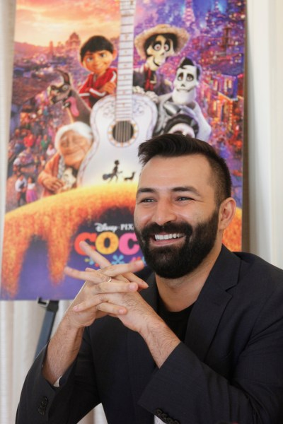 "Theresa's Reviews interviews ""Coco"" writer & co-director Adrian Molina."