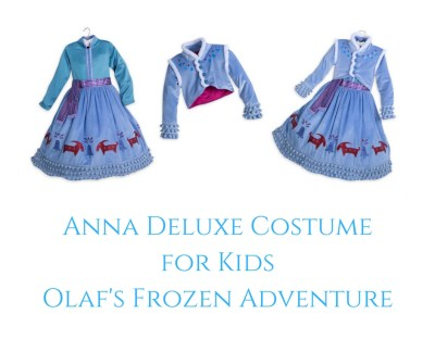 Theresa's Reviews - Anna Deluxe Costume for Kids - Olaf's Frozen Adventure