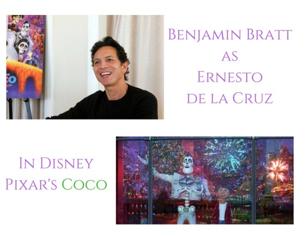 Theresa's Reviews - Benjamin Bratt as Ernesto de la Cruz in Disney Pixar's Coco