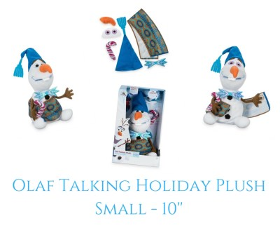 Theresa's Reviews - Olaf Talking Holiday Plush - Small - 10""