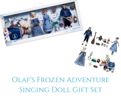 Theresa's Reviews - Olaf's Frozen Adventure Singing Doll Gift Set