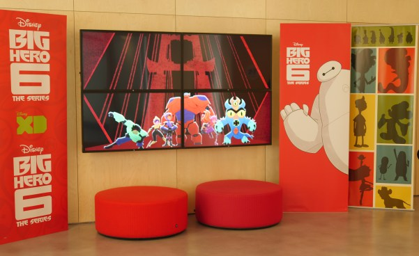 The Disney TV animation building - Big Hero 6: The Series blogger press event - Theresa's Reviews