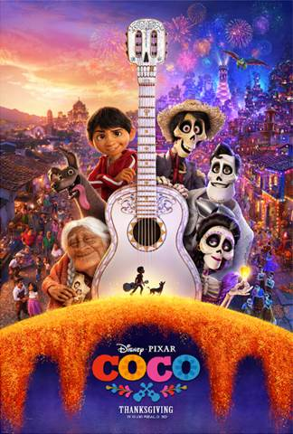 Disney Pixar Coco movie poster