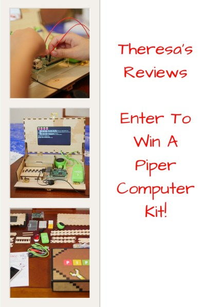 Theresa's Reviews - Enter to win a free Piper Computer Kit! #free #giveaway #win #stem #education